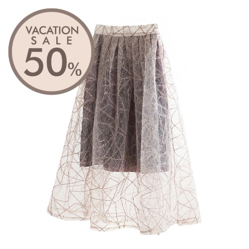 Two-Tone Sha Skirt